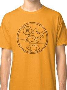 """""""Bowties are Cool"""" Translated into Gallifreyan Classic T-Shirt"""