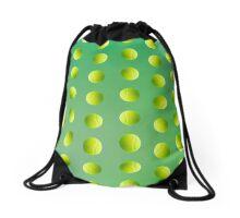 Tennis-ball Pattern Drawstring Bag
