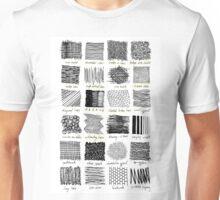 Annotated Mark Making Unisex T-Shirt