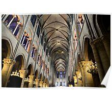 Inside Notre Dame Poster