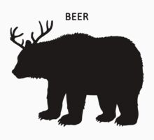 Beer (Deer + Bear) by rynooooooooooo