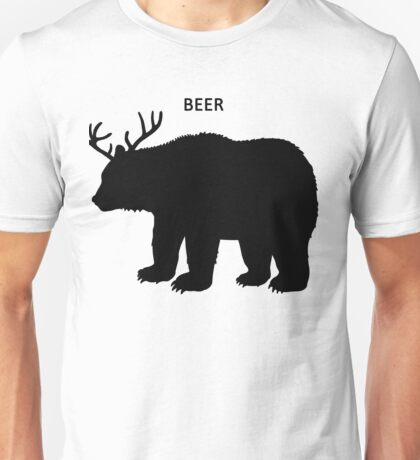 Beer (Deer + Bear) Unisex T-Shirt