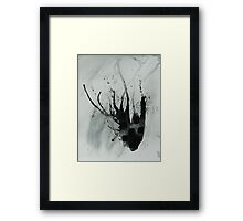 Untitled Abstract Study 21 Framed Print