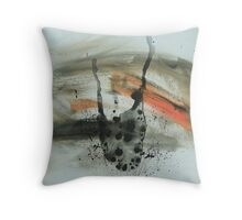 Untitled Abstract Study 23 Throw Pillow