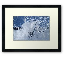 Bath Time Suds Framed Print