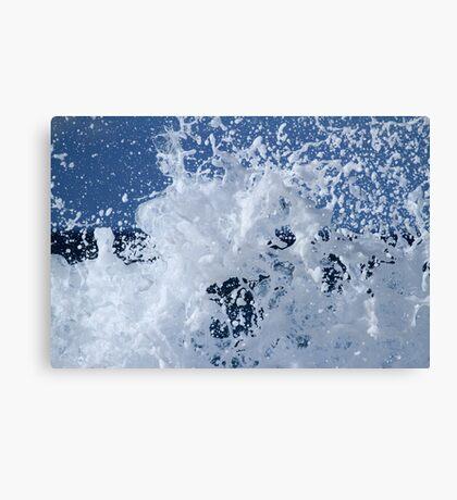 Bath Time Suds Canvas Print