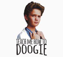 Teach Me How To Doogie Kids Tee