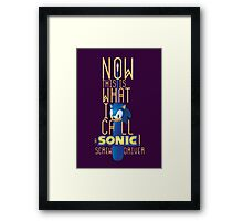 The True Sonic Screwdriver Framed Print