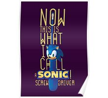 The True Sonic Screwdriver Poster