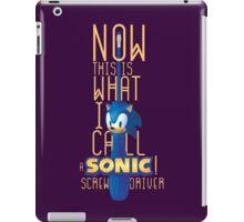 The True Sonic Screwdriver iPad Case/Skin