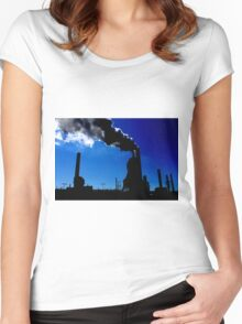 Steel Mill Factory Women's Fitted Scoop T-Shirt