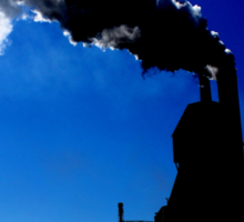 Steel Mill Factory Sticker