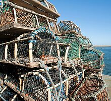 Crab or lobster pots by photoeverywhere