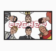 Archer - Team Logo by HalfFullBottle