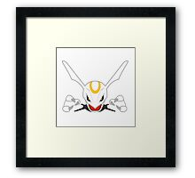Pokemon: White Rayquaza  Framed Print