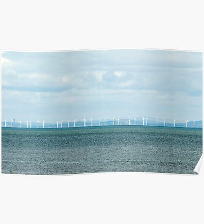 Offshore windfarm Poster