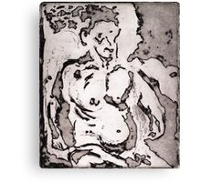 Abstract Figure Canvas Print