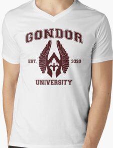 Gondor University Mens V-Neck T-Shirt