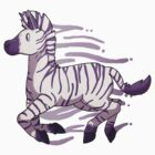 Purple Zebra by Clair C