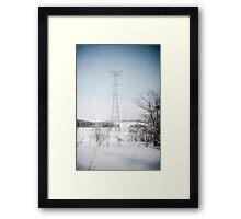 winter power Framed Print