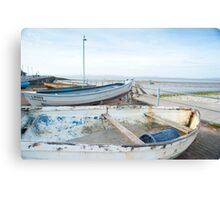Small fishing boats Canvas Print