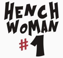 Hench Woman by HalfFullBottle