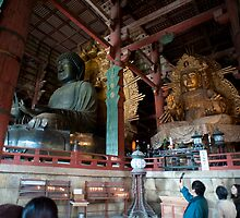 Daibutsu of Tōdai-ji by photoeverywhere