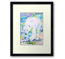 KING of the POLE Framed Print