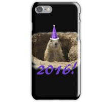 Prairie Dog New Year 2016 iPhone Case/Skin