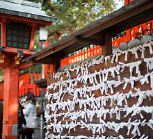 Omikuji Board by photoeverywhere