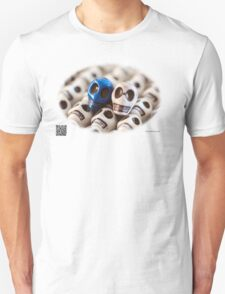 Blue And White Unisex T-Shirt