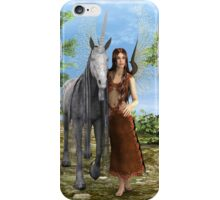Fairy and Unicorn iPhone Case/Skin