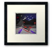 is Space real? Framed Print