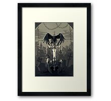 Dark Times Framed Print