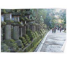 Kasuga Taisha Temples Poster