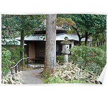 Isuien Garden Tea Ceremony House Poster