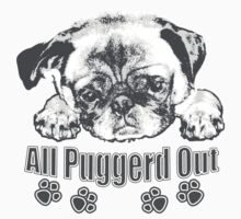 Puggerd out pug  by saltypro