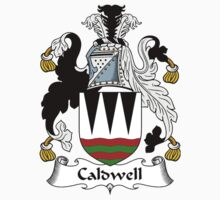 Caldwell Coat of Arms / Caldwell Family Crest by William Martin