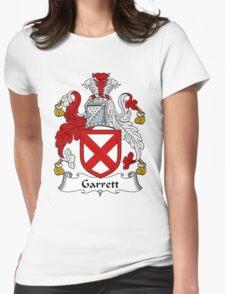 Garrett Coat of Arms / Garrett Family Crest Womens Fitted T-Shirt