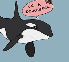 Another orca by Cesca N