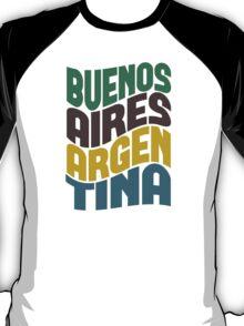 Buenos Aires Retro Wave T-Shirt