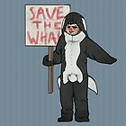 Save the Whales Cas by Cesca N