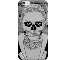 Tate Langdon Skull // Grey  iPhone Case/Skin