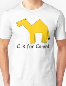 C is for Camel Unisex T-Shirt