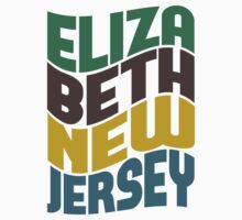 Elizabeth New Jersey Retro Wave Kids Clothes
