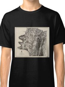 Civil War Maps 0041 Antietam Classic T-Shirt
