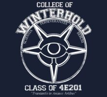 Winterhold College Graduate by Zethian
