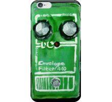 Radiohead Envelope Filter Guitar Pedal Fine Art Print Of Acrylic Painting iPhone Case/Skin