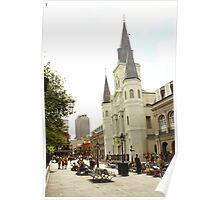 Jackson Square Poster