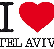 I ♥ TEL AVIV by eyesblau